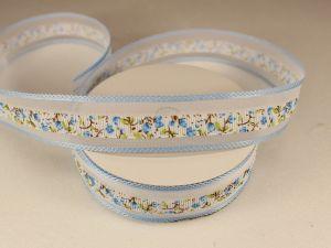 `Лента декоративная, ширина 25 мм(313105), цвет: №10 голубой