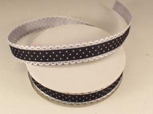 `Лента декоративная, ширина 20 мм(213046), цвет: №1 черный