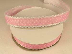 `Лента декоративная, ширина 20 мм(213046), цвет: №3 светло-розовый