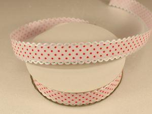`Лента декоративная, ширина 20 мм(213046), цвет: №5 бело-красный