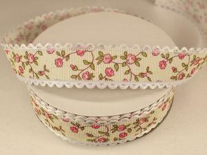 `Лента декоративная, ширина 25 мм(313077), цвет: №6 розовый