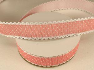 `Лента декоративная, ширина 25 мм(313072), цвет: №5 персиковый