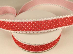 `Лента декоративная, ширина 25 мм(313072), цвет: №9 красный