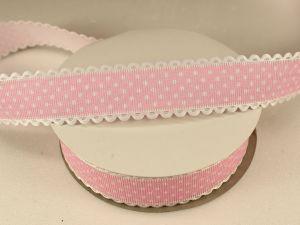 `Лента декоративная, ширина 25 мм(313072), цвет: №10 светло-розовый