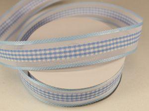 `Лента декоративная, ширина 25 мм(313101), цвет: №5 голубой