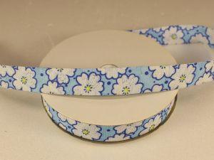 `Лента декоративная, ширина 15 мм(213052), цвет: №2 голубой