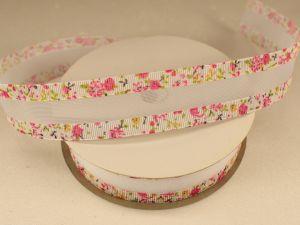 `Лента декоративная, ширина 25 мм(313031), цвет: №1 розовый
