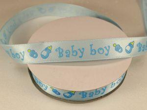 `Лента декоративная, ширина 15 мм(213023), цвет: №1 голубой