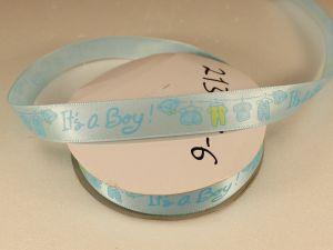 `Лента декоративная, ширина 15 мм(213023), цвет: №6 голубой
