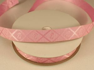 `Лента декоративная, ширина 15 мм(213013), цвет: №5 светло-розовый