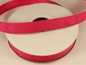 `Лента декоративная, ширина 15 мм(213010), цвет: №3 ярко-розовый