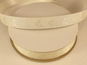 `Лента декоративная, ширина 15 мм(213010), цвет: №9 кремовый