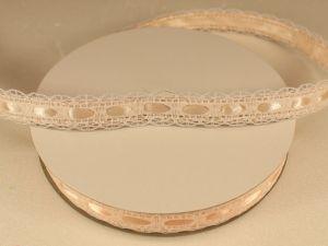 `Лента декоративная, ширина 15 мм(213130), цвет: №2 персиковый