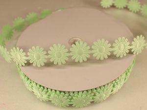 `Лента декоративная, ширина 18 мм(213069), цвет: №6 зеленый