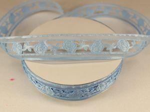 `Лента декоративная, ширина 22 мм(313013), цвет: №4 голубой