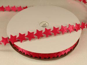 `Лента декоративная, ширина 13 мм(213007), цвет: №11 ярко-розовый