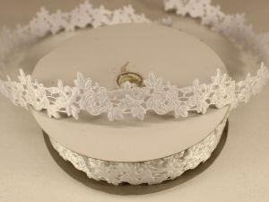 `Лента декоративная, ширина 25 мм(313003), цвет: №1 белый