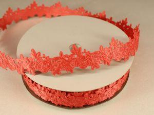 `Лента декоративная, ширина 25 мм(313003), цвет: №2 коралловый
