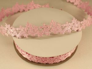 `Лента декоративная, ширина 25 мм(313003), цвет: №7 светло-розовый