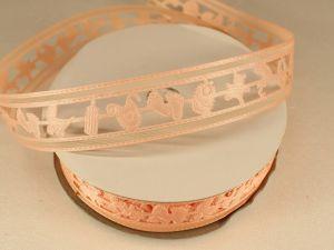 `Лента декоративная, ширина 22 мм(313010), цвет: №3 персиковый