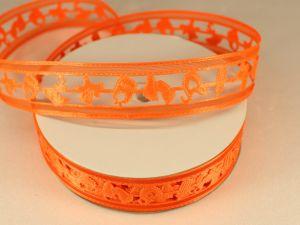 `Лента декоративная, ширина 22 мм(313010), цвет: №9 оранжевый