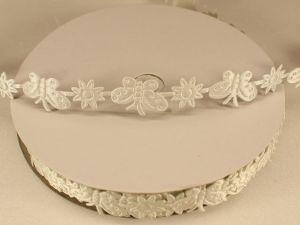 `Лента декоративная, ширина 15 мм(213098), цвет: №2 белый