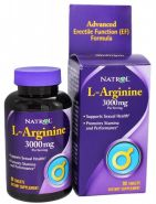 L-Arginine 3000 mg от Natrol 90 таб