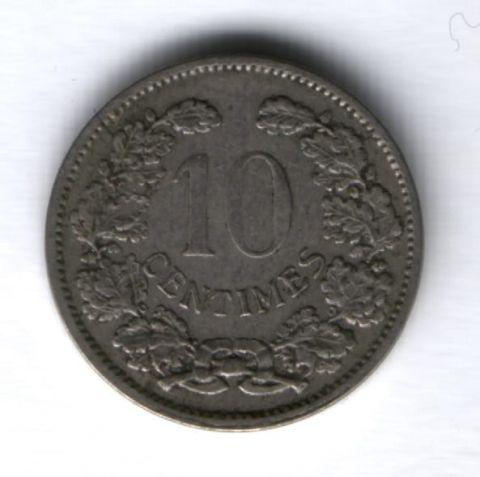 10 сантимов 1901 г. Люксембург