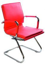 Кресло  CH-993 Low-V-red искусственная кожа красная