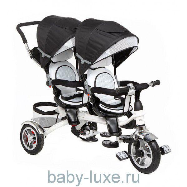 Велосипед для двойни 3-х колесный BA Twins