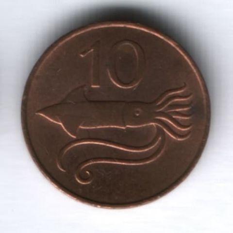10 эйре 1987 г. Исландия