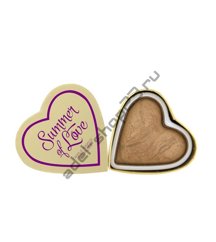 "I Love MakeUp - Бронзатор ""I Heart Makeup Blushing Hearts - Summer of Love Bronzer"""