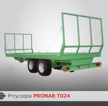 Прицепы для перевозки рулонов Pronar
