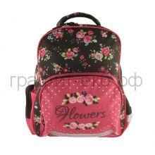 Рюкзак Феникс+ Орнамент-Цветы коричн./розовый 43278