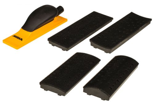 Комплект ручного шлифовального блока Premium 70 x 198 мм 40 отв.