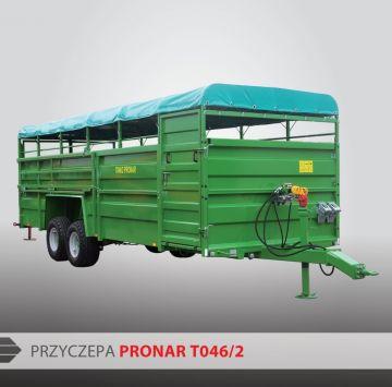 Прицеп для перевозки скота PRONAR Kurier