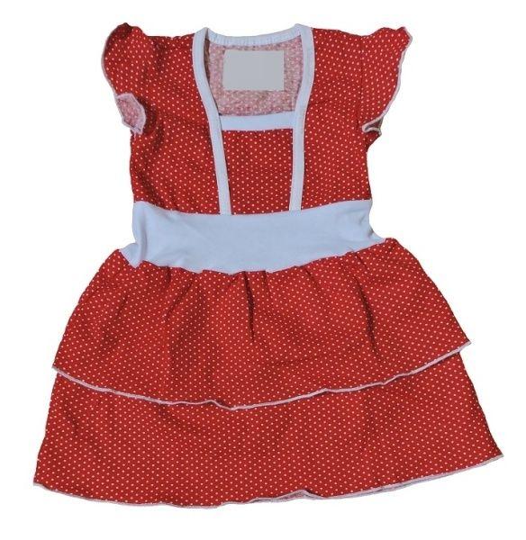 Платье детское Пеппи Efri-Sd177 (хлопок)