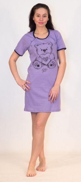 Сорочка женская для кормящих Efri-Ss20 (хлопок)