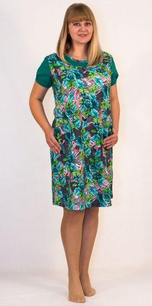 Sale Платье женское Цветы Efri-St21 (хлопок)
