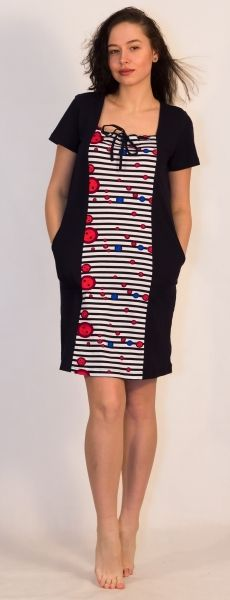Платье женское Ночка Efri-St40 (хлопок)