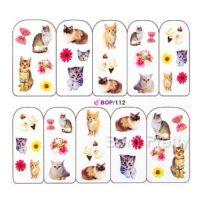 Наклейка на ногти Nail Art BOP112