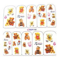 Наклейка на ногти Nail Art BOP181