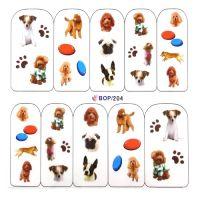 Наклейка на ногти Nail Art BOP204