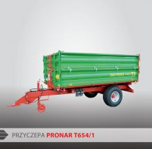 Одноосный прицеп PRONAR T654