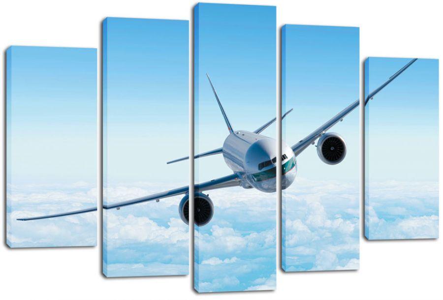 Модульная картина Самолет
