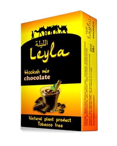 Кальянная смесь без табака Лейла  Шоколад