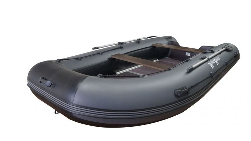 Лодка ПВХ RiverBoats - 390 (Повышенной мореходности)