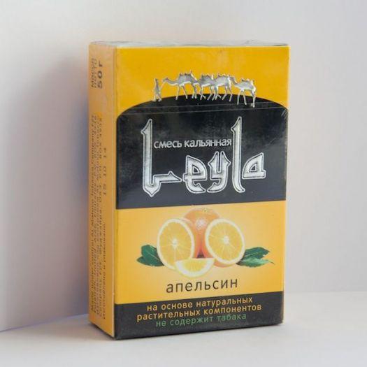 Кальянная смесь без табака Лейла Апельсин