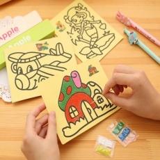 Наборы для детского творчества «Цветной песок»