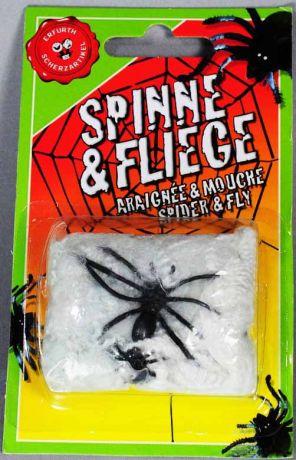 Паук с мухой на паутине (50 см)